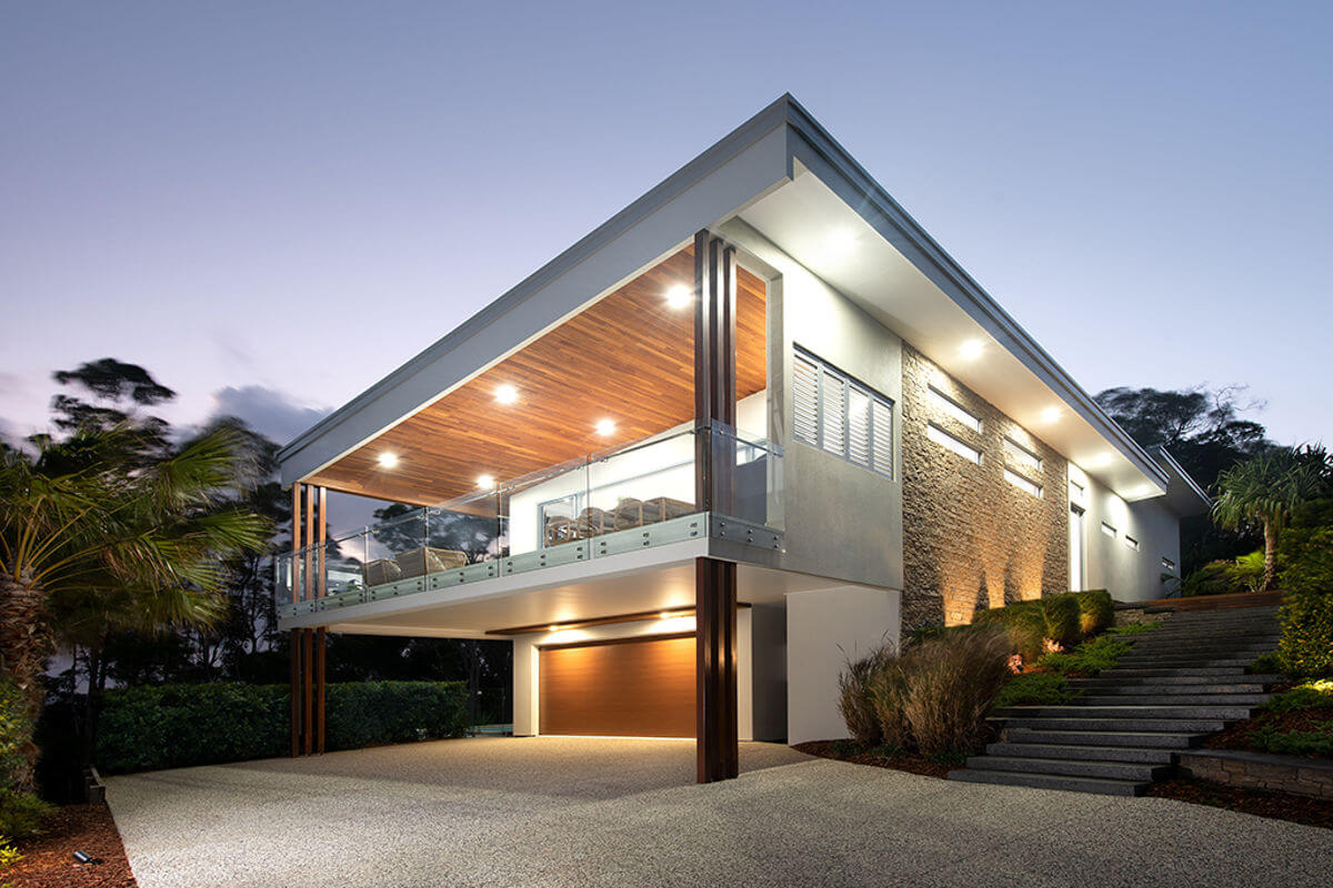 House Exterior Endeavour Prize Home Maroochy River Sunshine Coast
