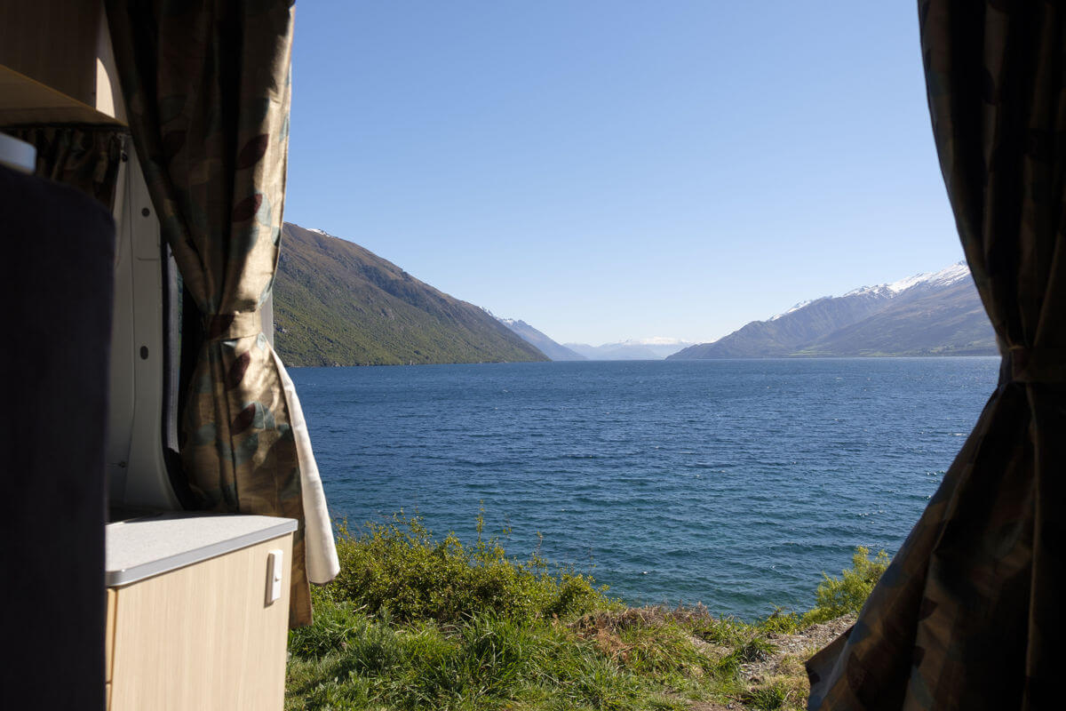 View camping NZ