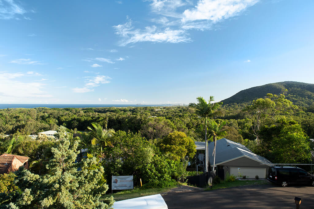 Image of the view from the balcony of Endeavour Prize Home 420 Yaroomba Sunshine Coast