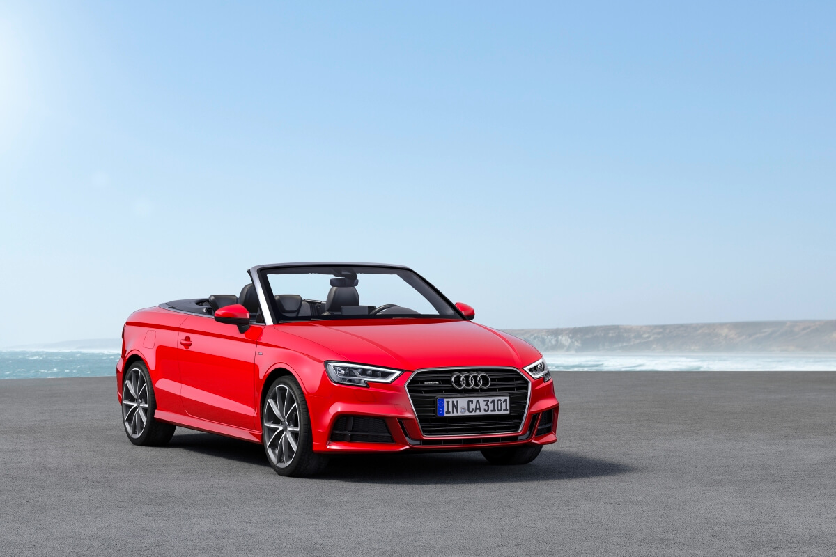 The Audi A3 Cabriolet is the James Bond of convertibles