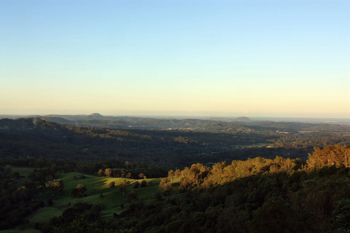 Scenic view Montville Sunshine Coast