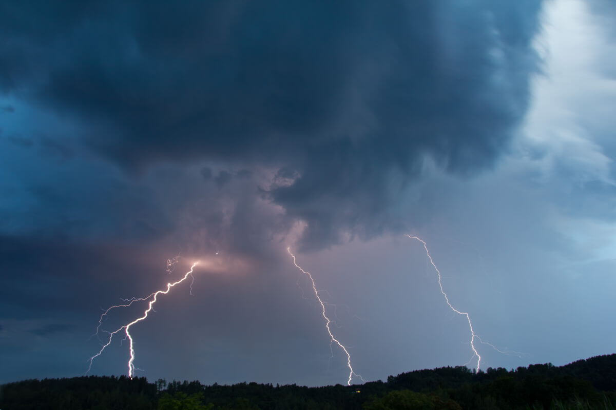 Photo of lightning
