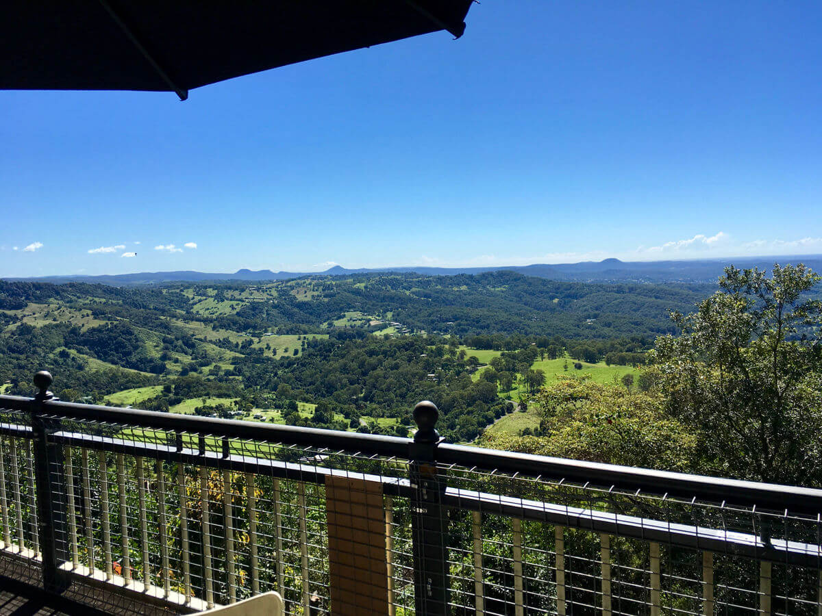 Photo of view from Endeavour Prize home Sunshine Coast Montville