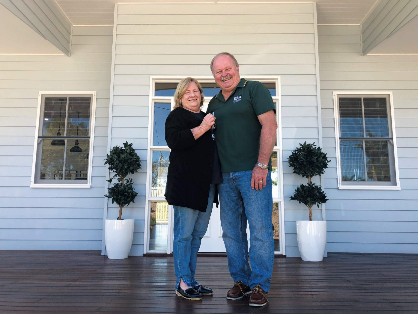 68th Anniversary Prize Home Winners Retire in Luxury