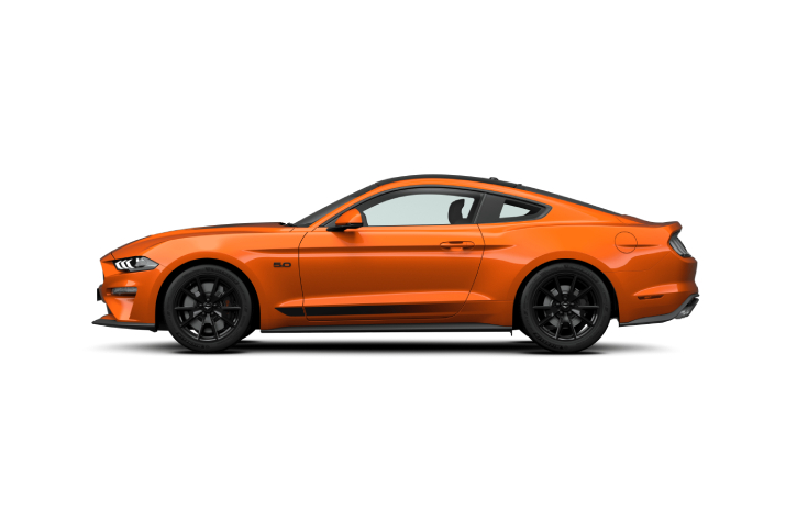The new Mustang GT Fastback