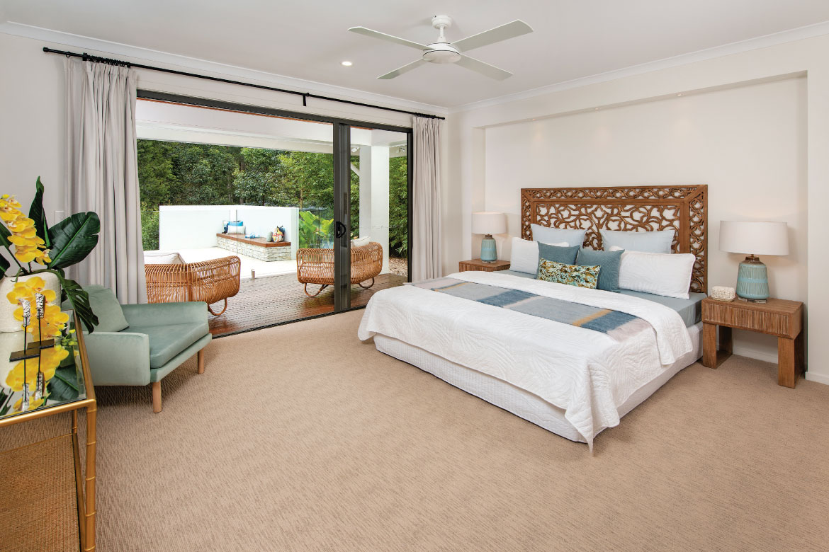Relaxing Master Bedroom