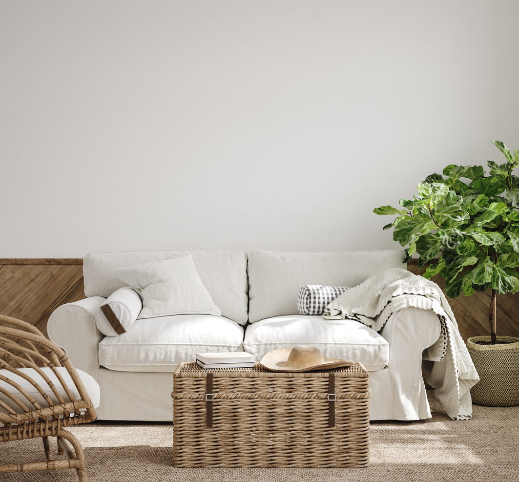 Use rugs and throws to create a cosy atmosphere
