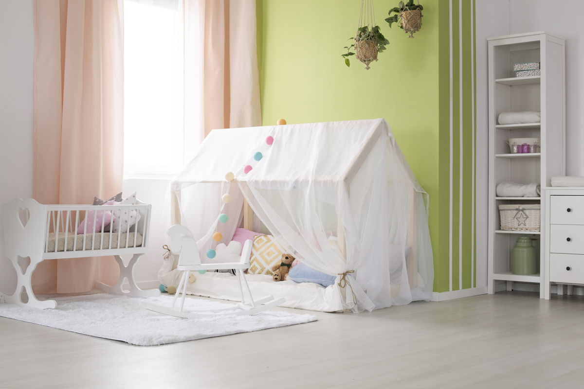 indoor cubby house decoration